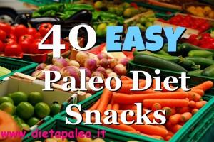 40 Paleo Snack Veloci